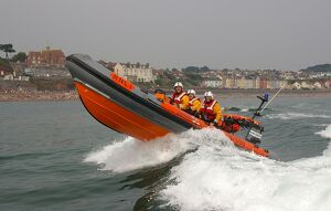 Teignmouth Atlantic 21 inshore lifeboat Frank and Dorothy