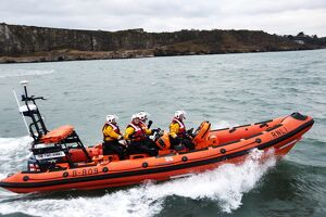 Teignmouth Atlantic 85 inshore lifeboat the Two Annes