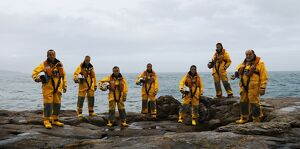 Torbay volunteer crew that were involved in the Ice Prince service