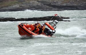 inshore lifeboats/trearddur bay atlantic 85 hereford endeavour b 847