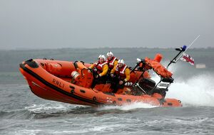 Youghal Atlantic 75 class lifeboat Coventry and Warwickshire